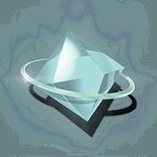 Ticket to the Stars slot - White gem symbol