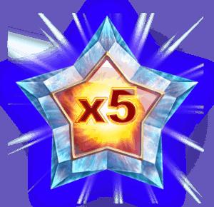 Starblast video slot - Wild symbool