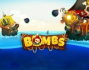 Bombs video slot logo