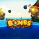 Bombs video slot logo