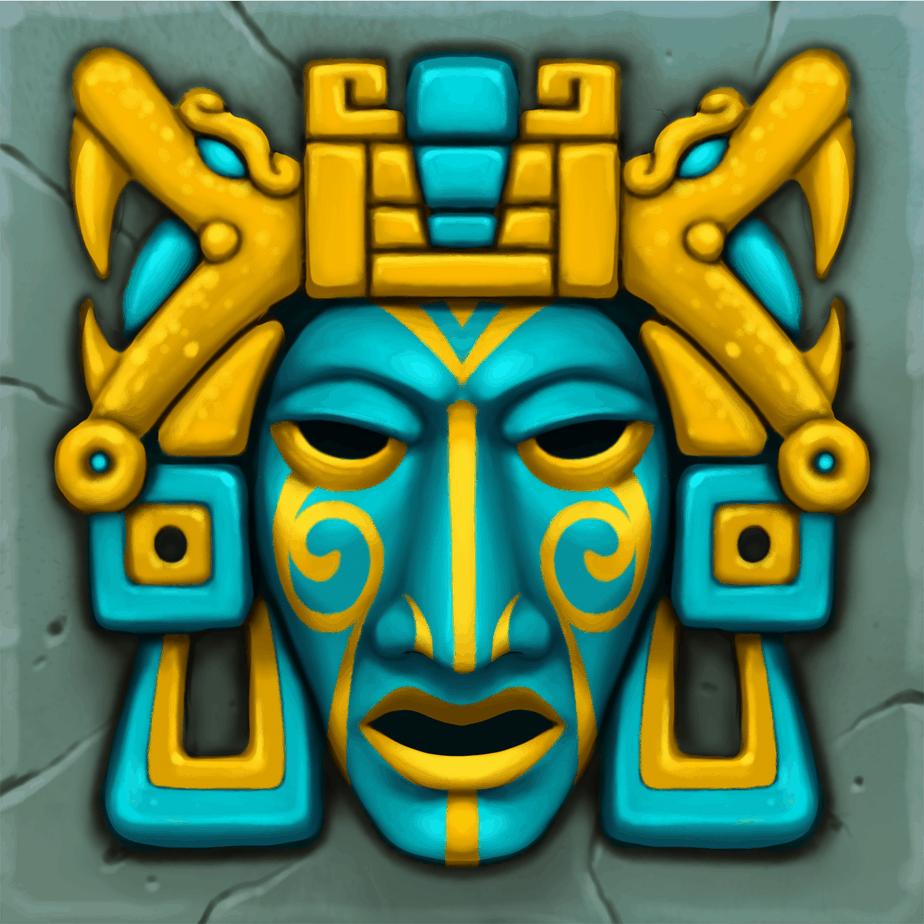Contact video slot - Blue mask symbol