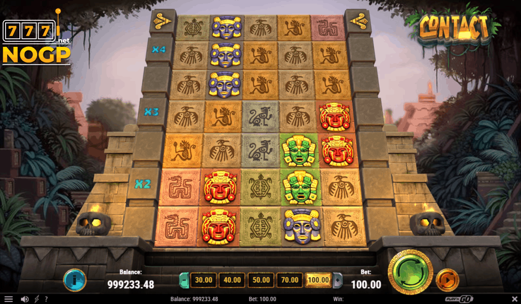 Contact video slot Play'n GO screenshot