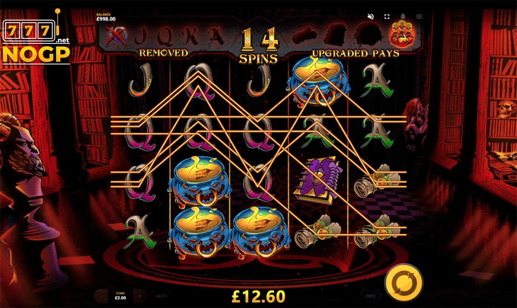 Devils Number slot - Gratis spins feature