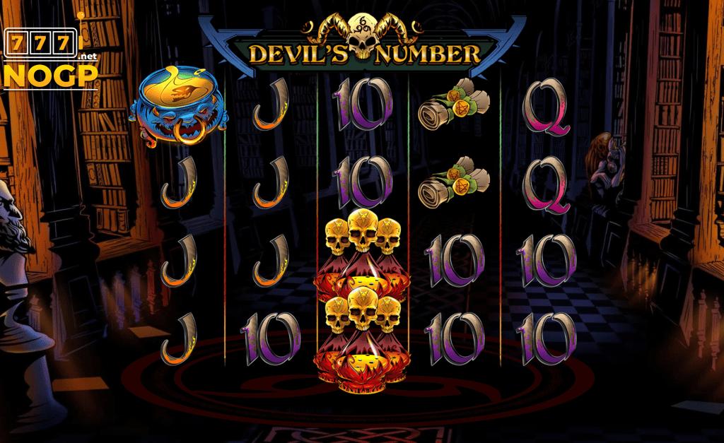 Devils Number video slot screenshot