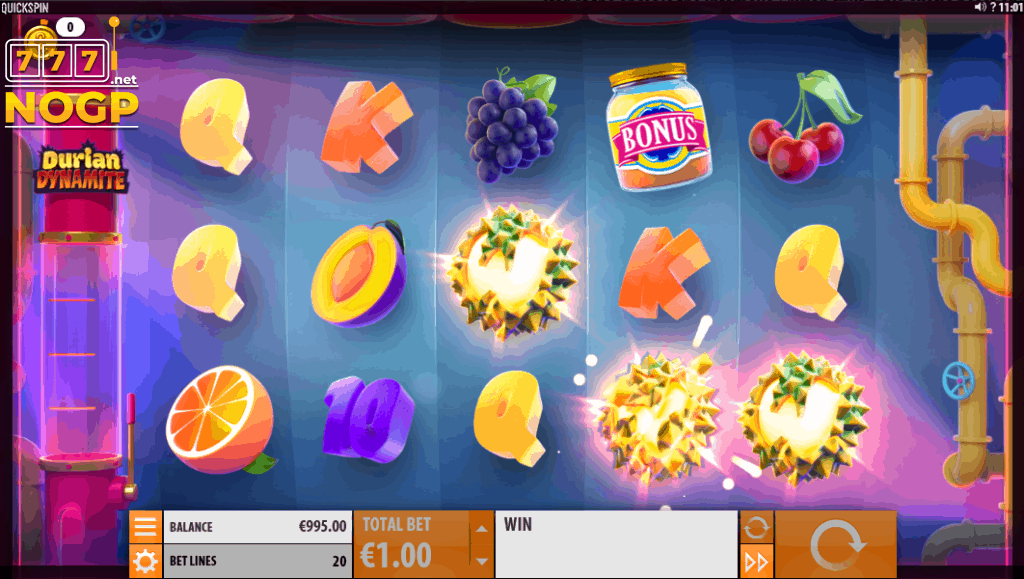 Durian Dynamite - Dynamite Wild Launch feature