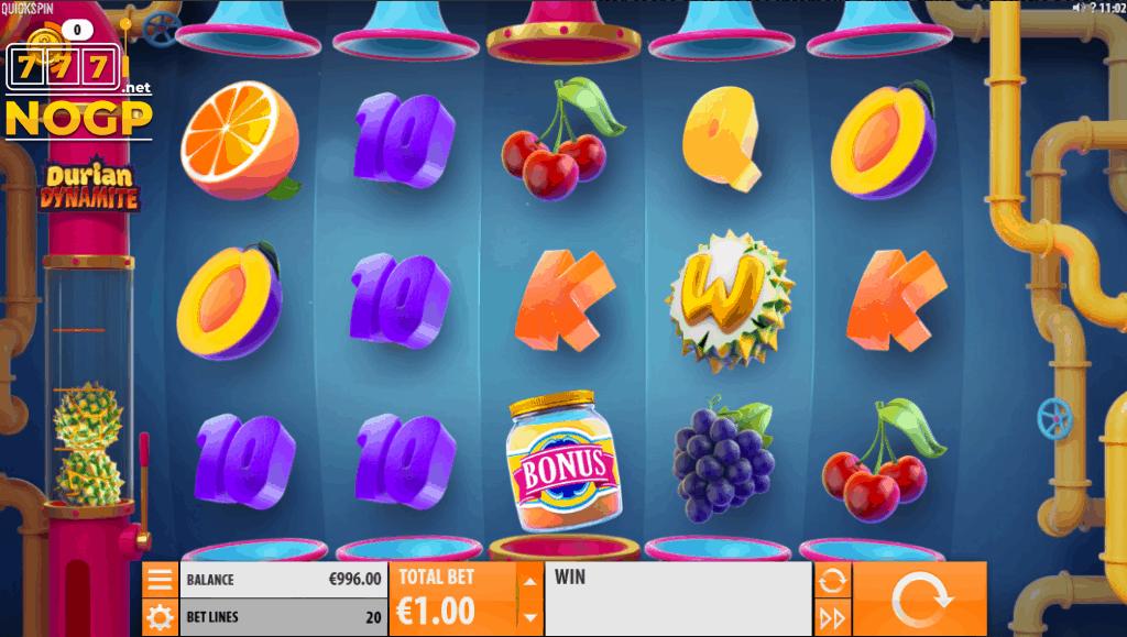 Durian Dynamite slot screenshot