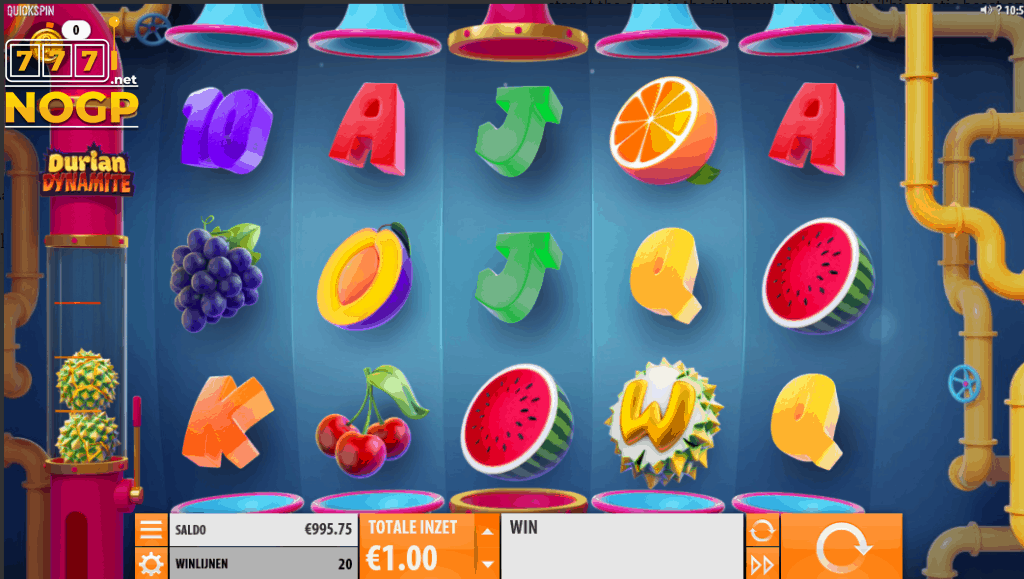 Durian Dynamite slot - Basispel screenshot