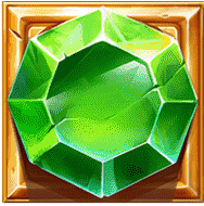 Dwarf Mine video slot - Green gem symbol