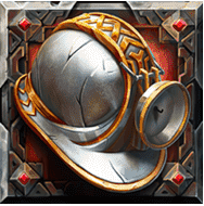Dwarf Mine video slot - Helmet symbol