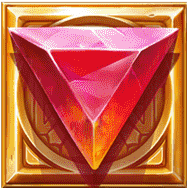 Dwarf Mine video slot - Red gem symbol