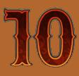 Golden Colts video slot - Tien symbool