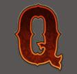 Golden Colts video slot - Koningin symbool