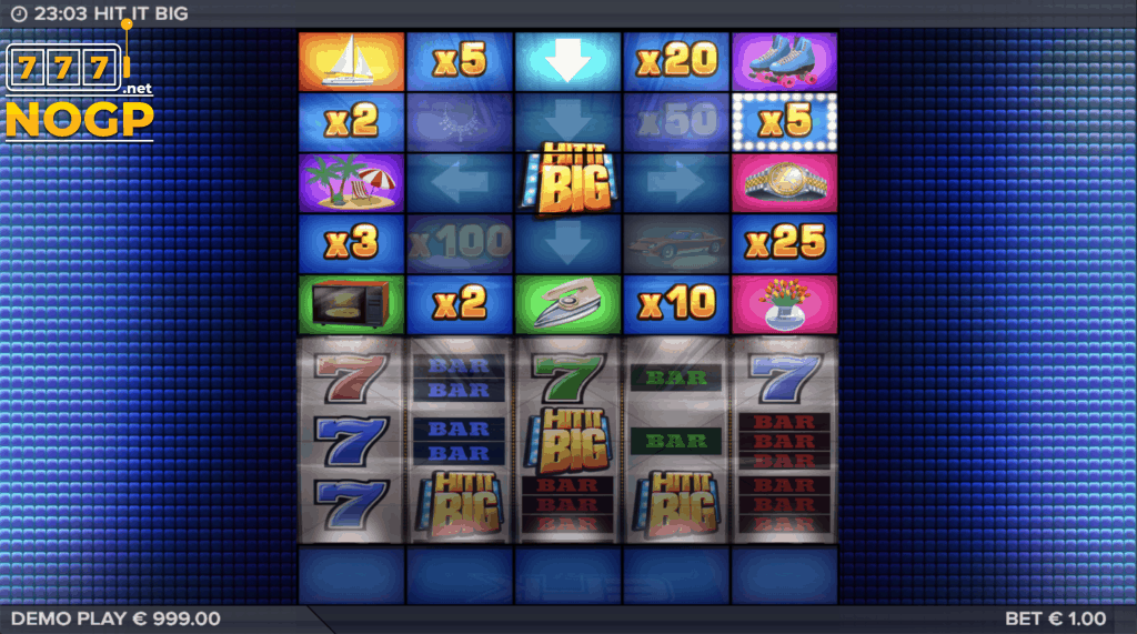 Hit It Big Bonus Game screenshot