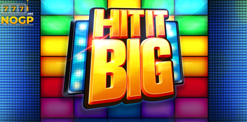 Hit It Big video slot logo
