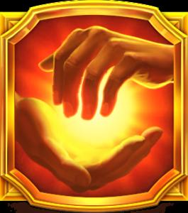 Midas Golden Touch slot - Wild symbool