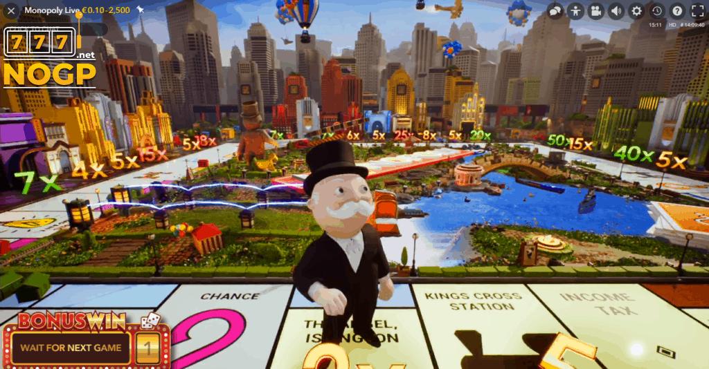 Monopoly Live: Dream Catcher Edition Bonus Game