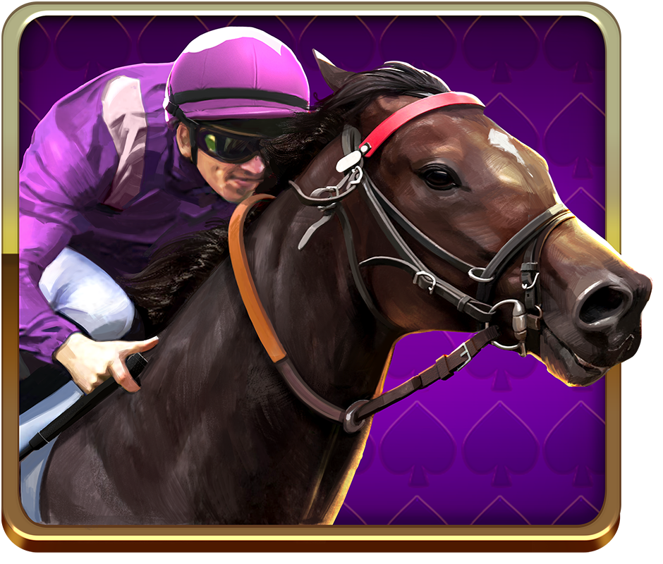 Scudamore's Super Stakes video slot - Pink Runner symbol