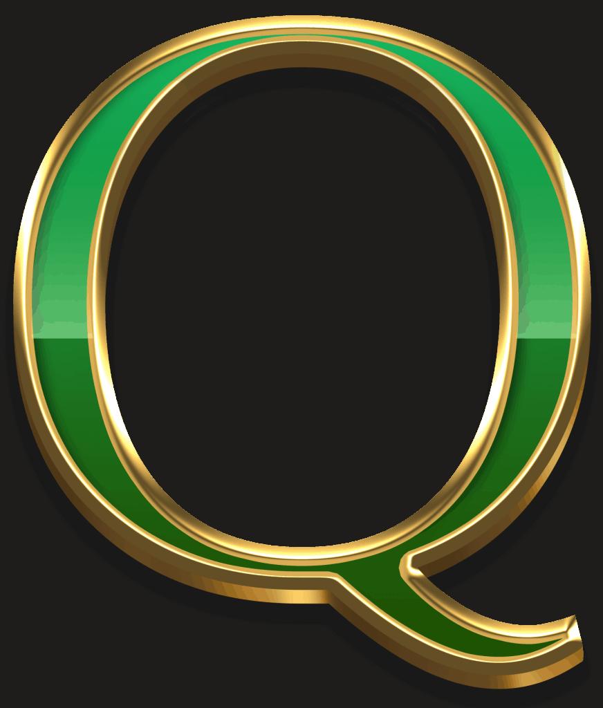 Scudamore's Super Stakes video slot - Q symbol
