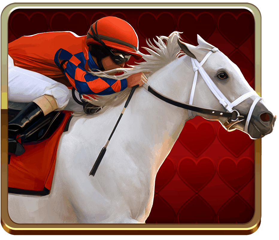 Scudamore's Super Stakes video slot - Red Runner symbol