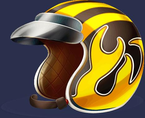 Spin Town video slot - Helmet symbol