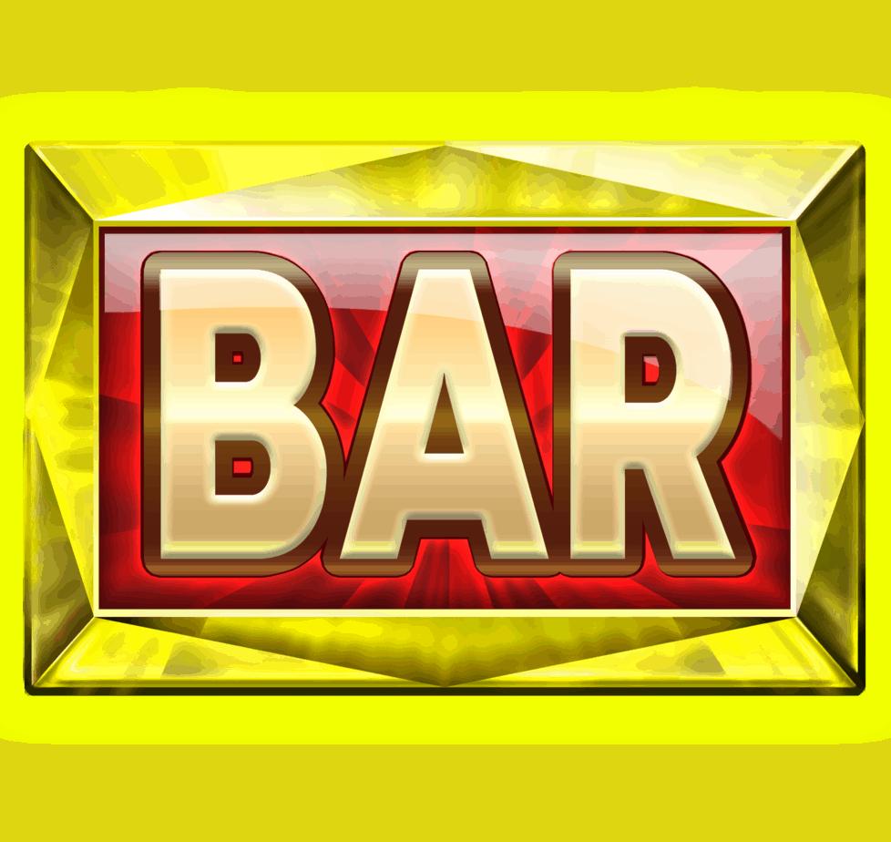 Starblast video slot - Bar symbol