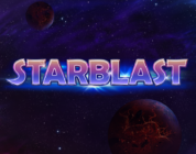 Starblast video slot logo Play'n GO