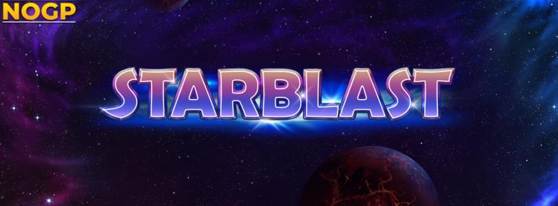 Starblast video slot logo Play'n GO