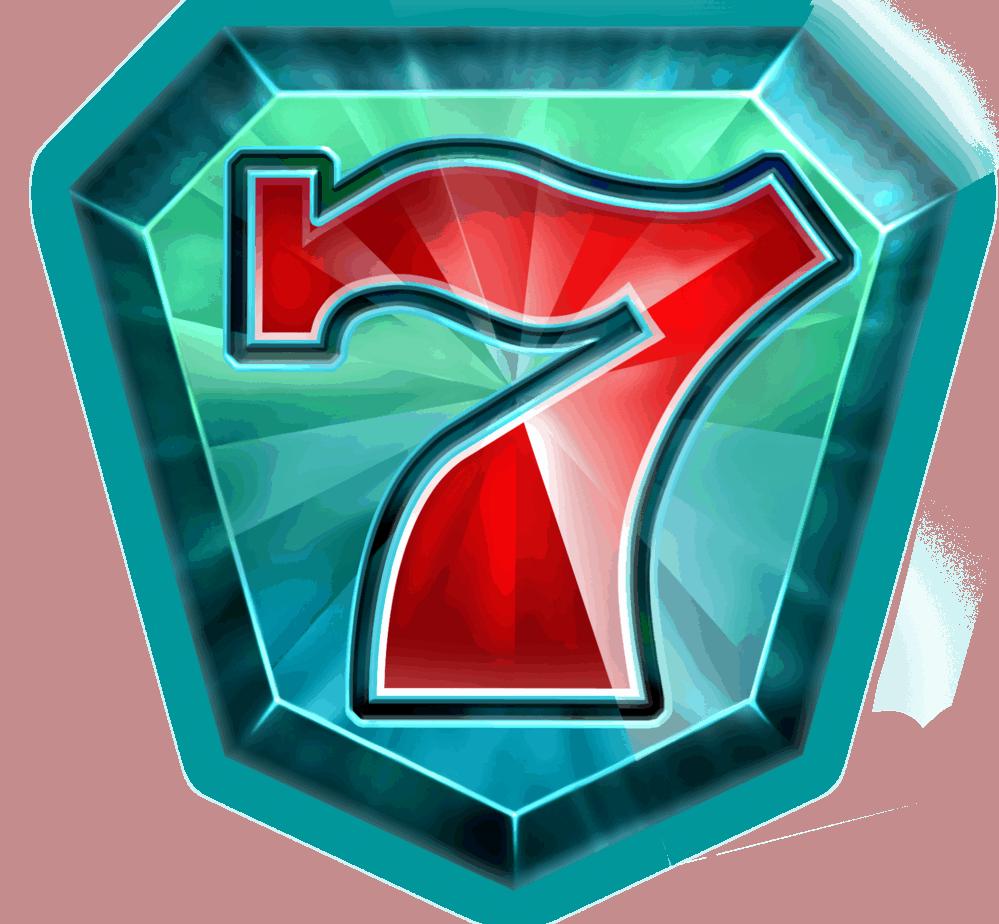 Starblast video slot - Seven symbol