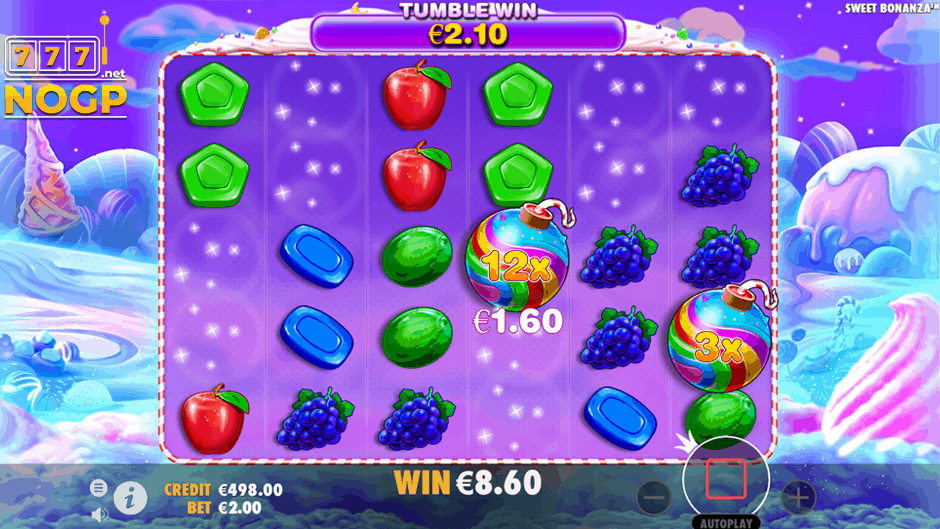 Sweet Bonanza slot gratis spins feature & tumble feature
