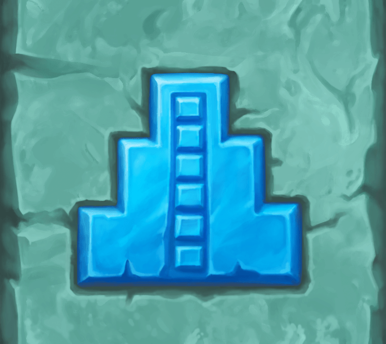 Temple of Nudges video slot - Tower symbol