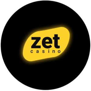 Zet Casino logo rond