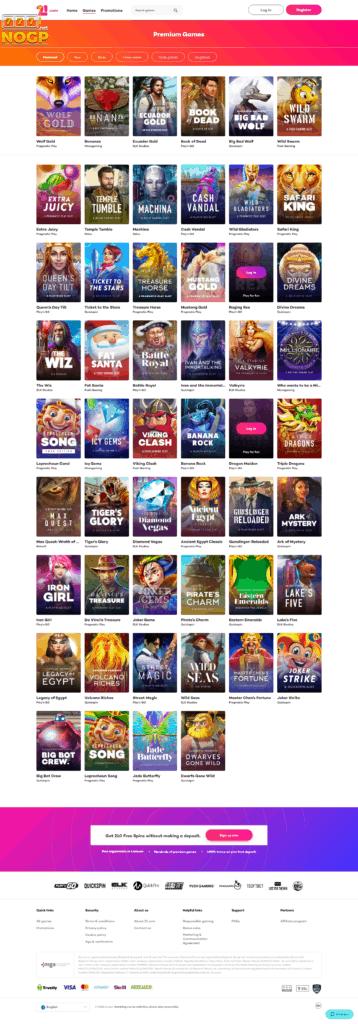 21.com Casino casino spellen