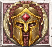 Ancient Fortunes: Zeus video slot - Ares symbol