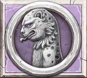 Ancient Fortunes: Zeus video slot - Panther symbol