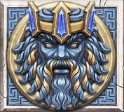 Ancient Fortunes: Zeus video slot - Poseidon symbol