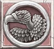 Ancient Fortunes video slot - Vulture symbol