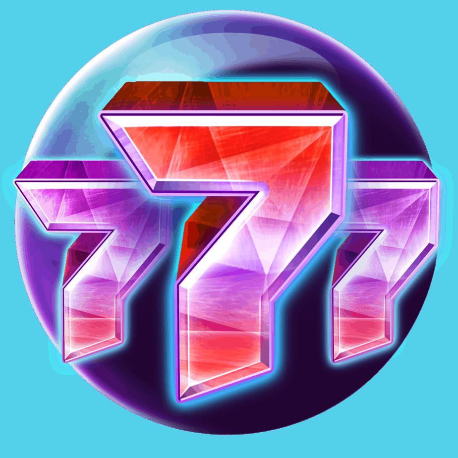 Crystal Sun Play'n GO video slot - Lucky Sevens symbool