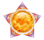 Crystal Sun video slot - Wild symbool