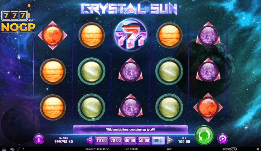 Crystal Sun video slot van Play'n GO