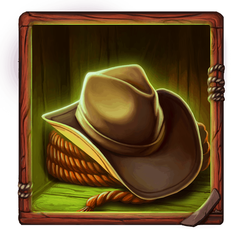 Dead or Alive 2 video slot - Hat symbol