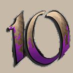 Devil's Number video slot - 10 symbol