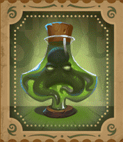 Dr Fortuno video slot - Clubs Potion symbol