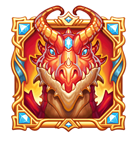 Dragon Horn video slot - Dragon symbol