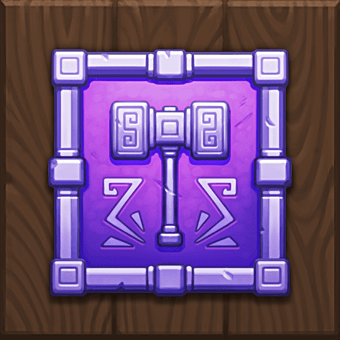 Dragon Horn video slot - Dwarf's Shield symbol