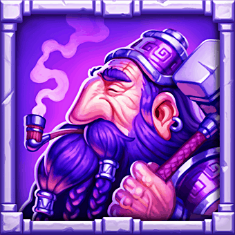 Dragon Horn video slot - Dwarf symbol