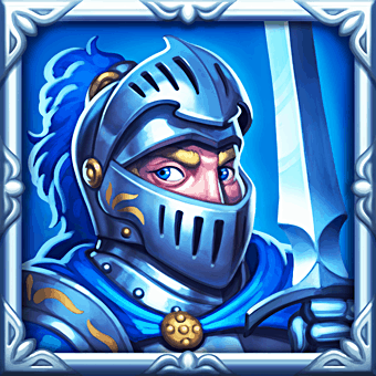 Dragon Horn video slot - Knight symbol