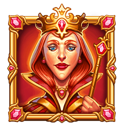 Dragon Horn video slot - Queen symbol