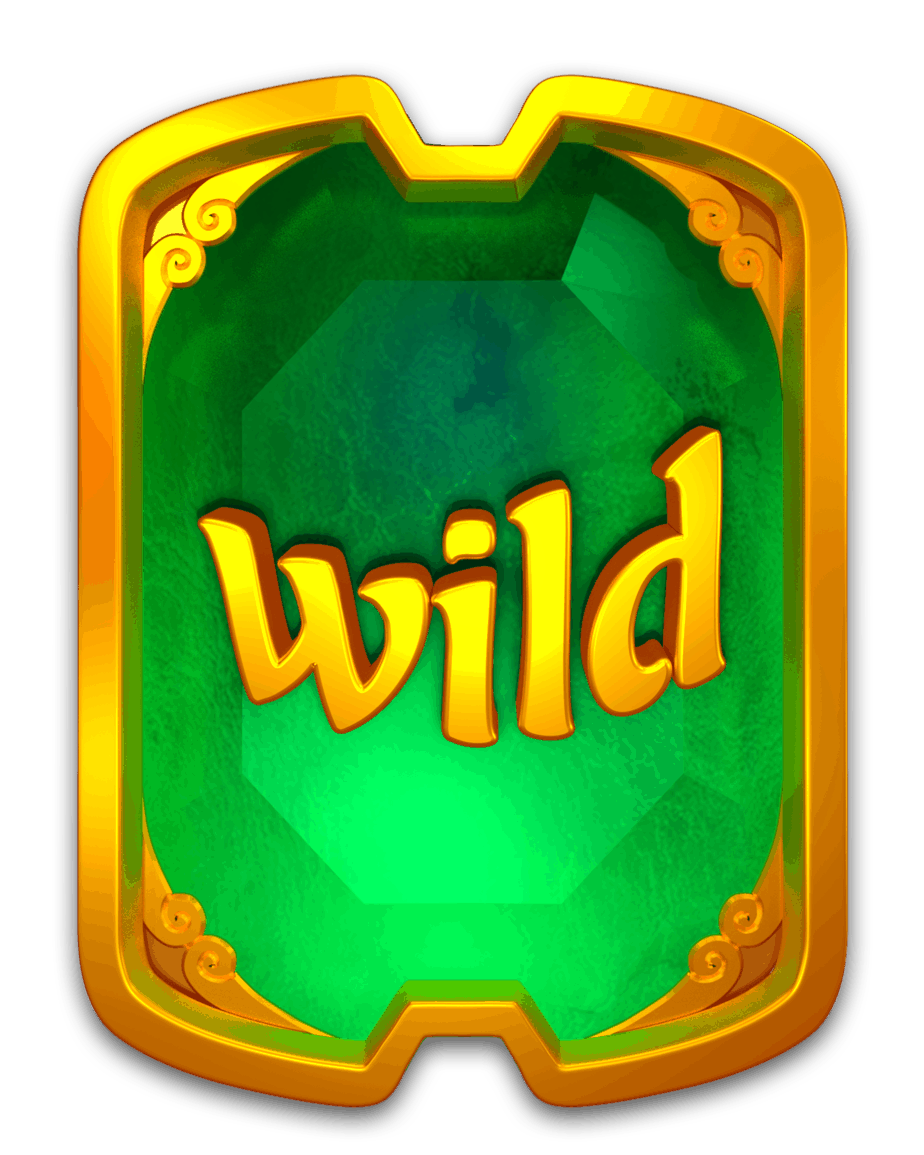 Eastern Emeralds video slot - Wild symbool