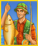 Fishin Frenzy Megaways video slot - Visserman symbool