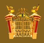 Foxin' Twins video slot - Gate symbol